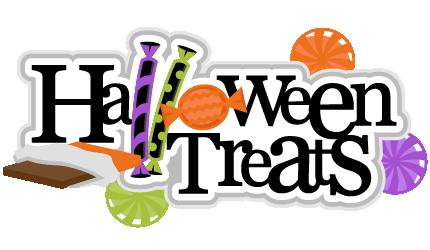 Halloween Treats Clipart.
