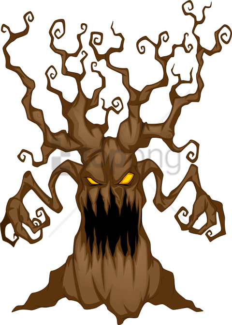 halloween tree clipart at getdrawings.