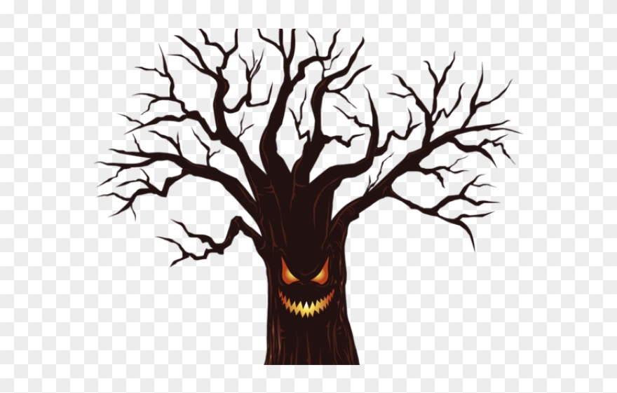 Library Clipart Spooky.