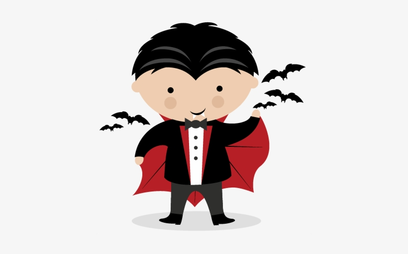 Vampire Svg Scrapbook Title Svg Cutting Files Crow.
