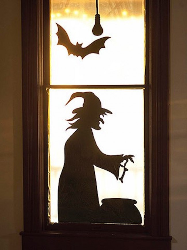The 33 Best Halloween Window Decorations for 2017.