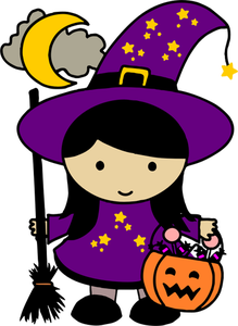 983 halloween witch clip art images.