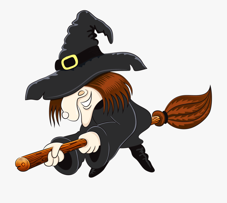 Halloween Witch Clipart.