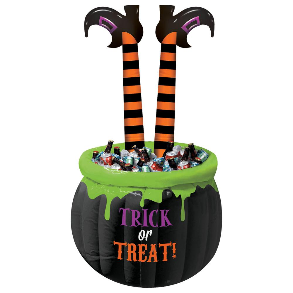 Amscan 55 in. Halloween Witch Legs Inflatable Cooler.