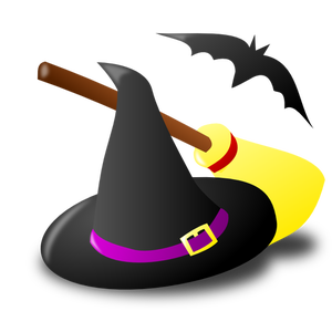980 halloween witch clip art images.