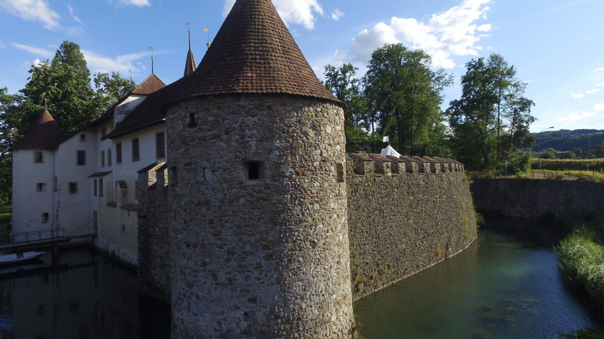 Schloss Hallwyl, Switzerland.