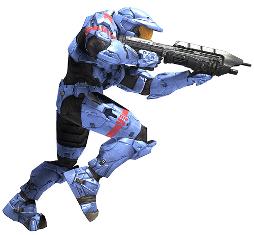 Halo Character Clipart.