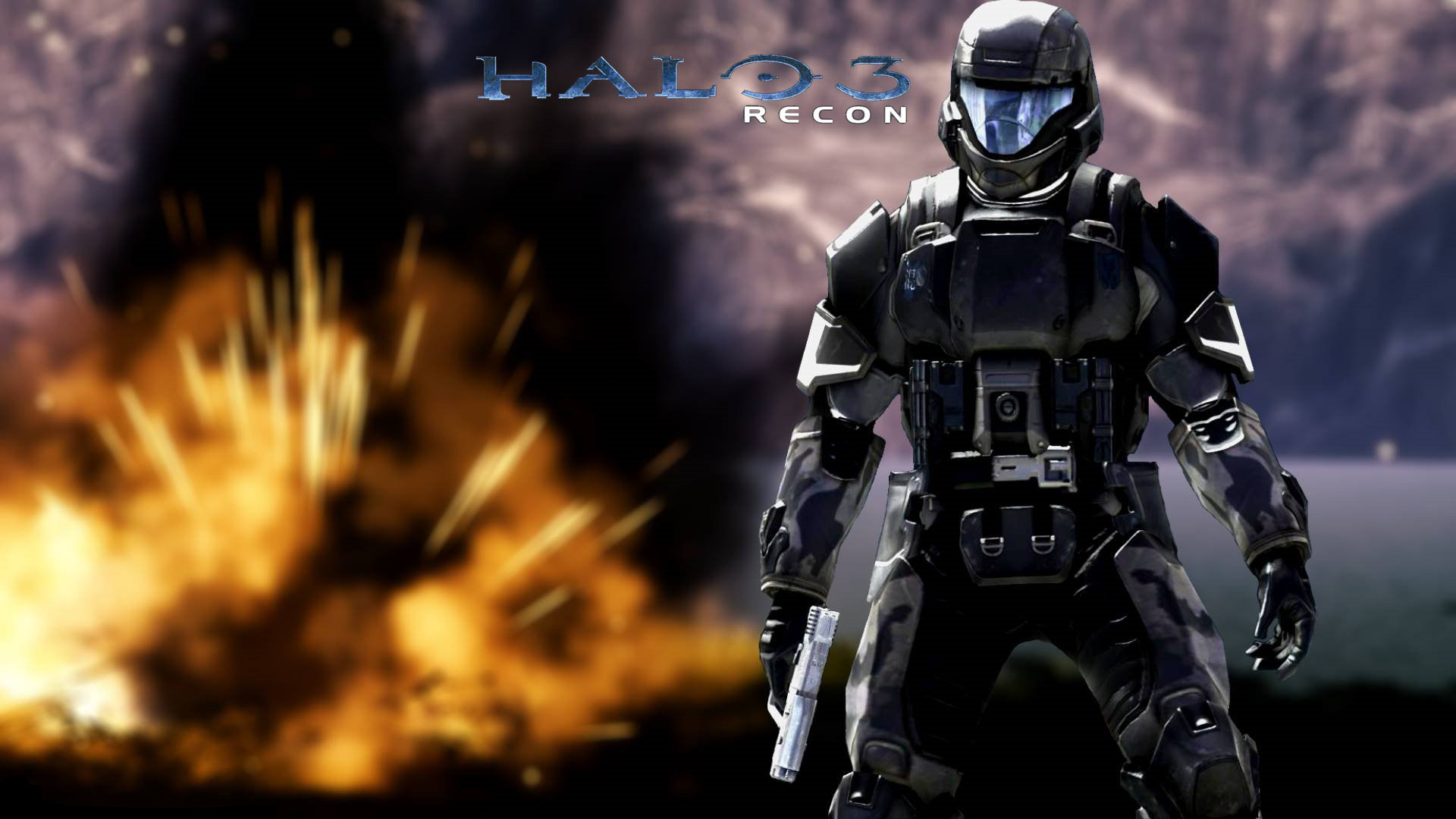 Halo 3 Wallpapers 100% Quality HD 1920x1080.