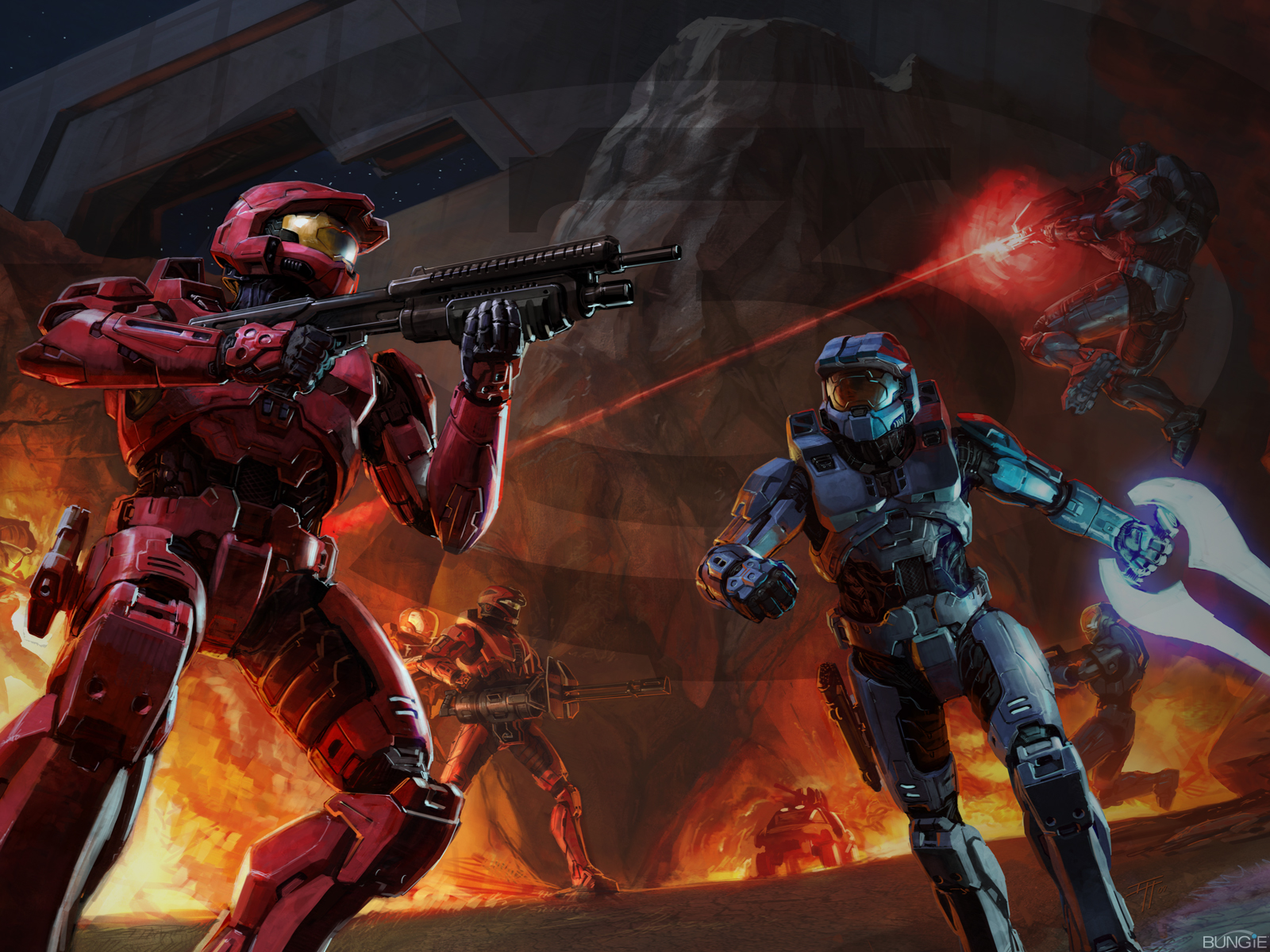 Halo Wallpapers and Backgrounds.