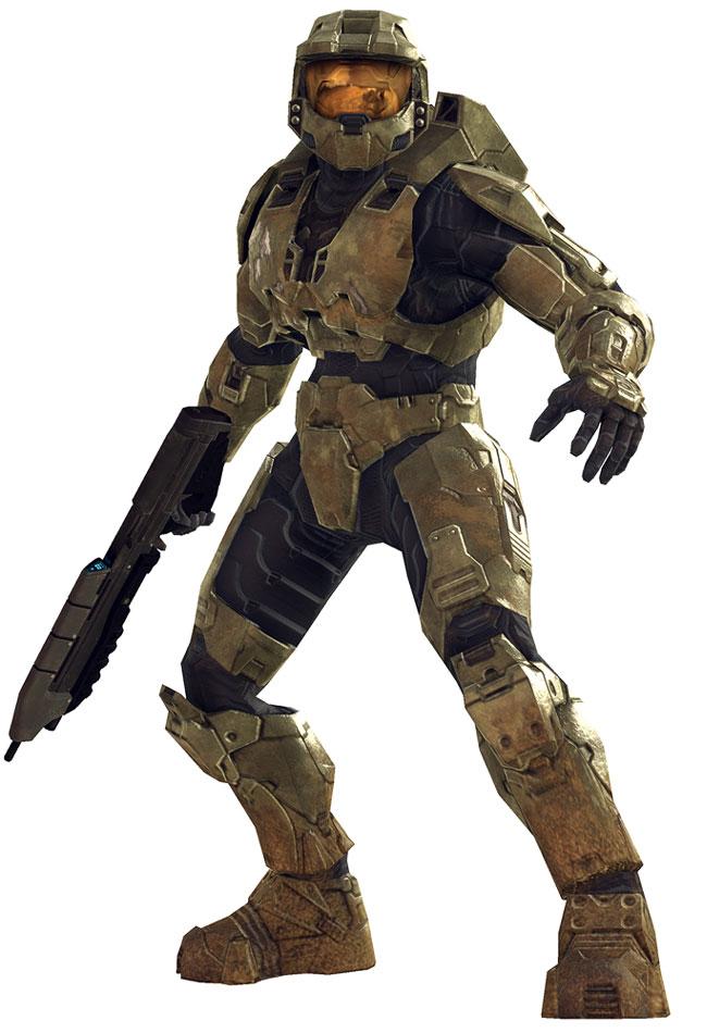 Master Chief, Assault Rifle (Halo 3).