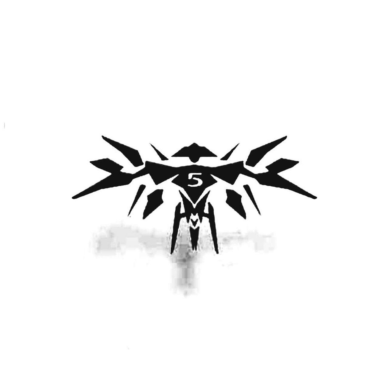 Halo 5 Guardian Minimalist Decal Sticker.