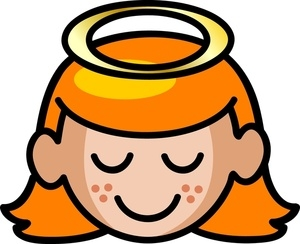 Halo Angel Clipart.