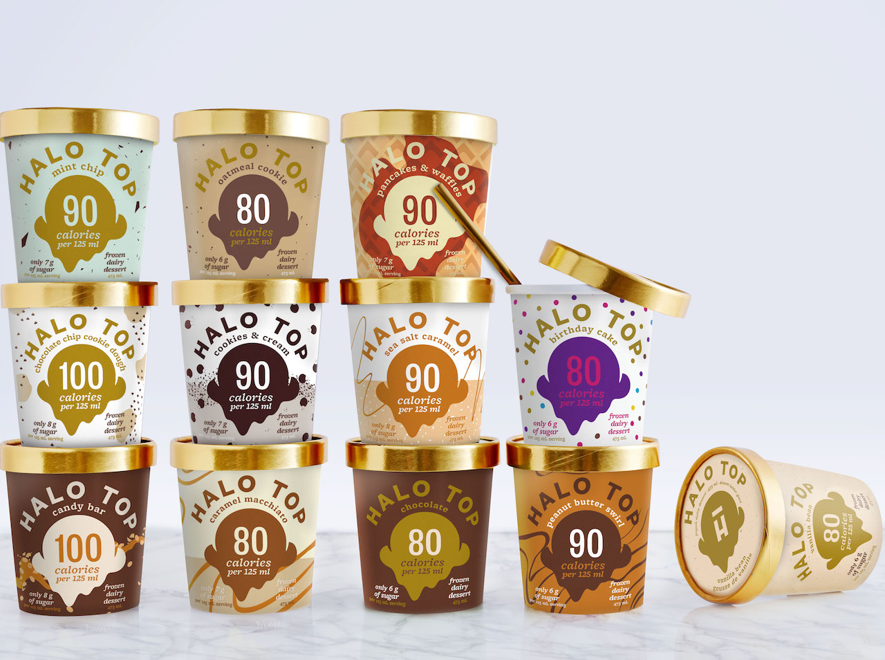 Halo Top Ice Cream Has Arrived In Canada.