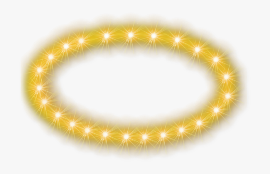 Glowing Halo Transparent Background.
