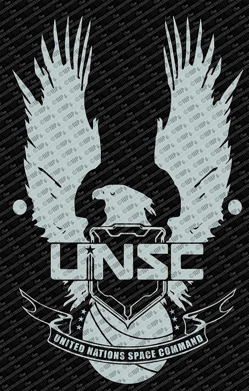 Halo Unsc Logo Wall Die Cut Vinyl Decal.
