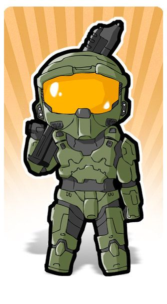 Halo Game Clipart.