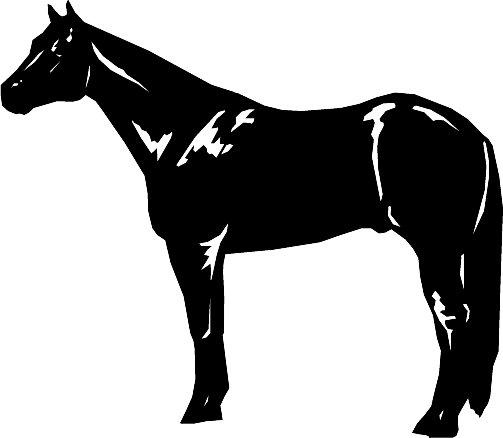 Quarter Horse Clip Art.