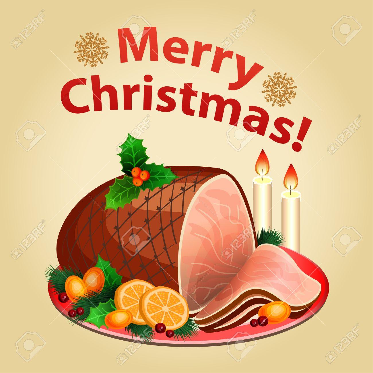 Christmas dinner, traditional christmas food.