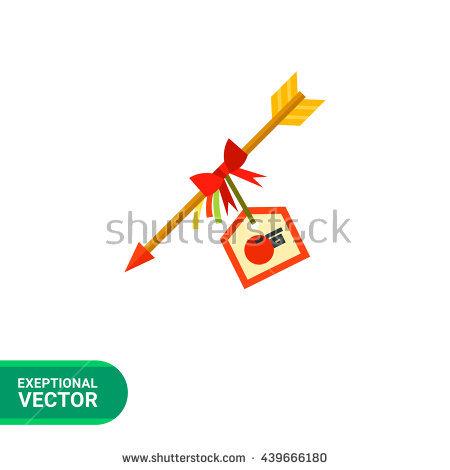 Hamaya Arrow Icon Stock Vector Illustration 439666180 : Shutterstock.