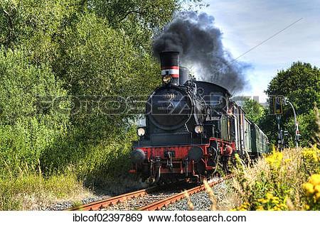 "Stock Photograph of ""Steam engine Karoline of the."