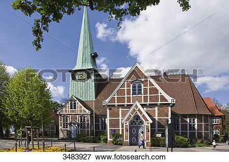 Picture of Church St. Petri and Paul, Bergedorf, Hamburg, Germany.