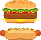 Free Hamburger Hotdog Cliparts, Download Free Clip Art, Free.