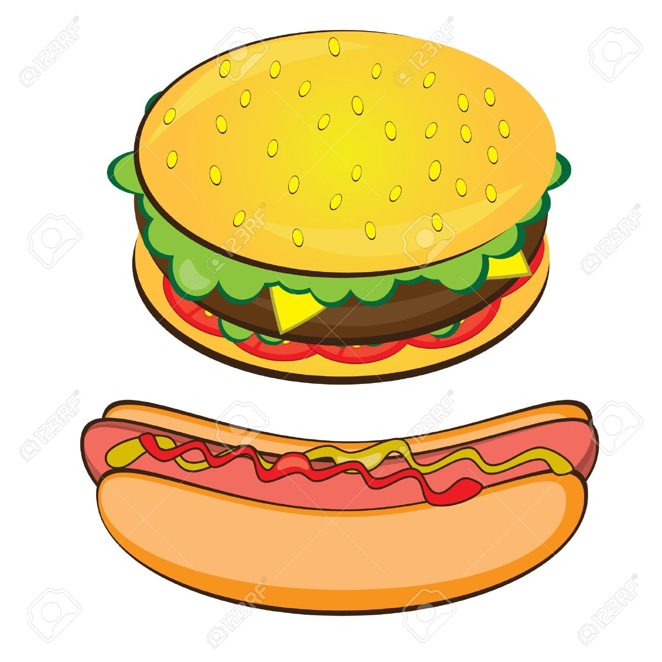 The best free Hamburger clipart images. Download from 130.