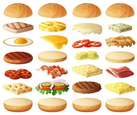 13,884 Hamburger Bun Stock Illustrations, Cliparts And Royalty Free.