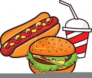 Hotdog And Soda Clipart.