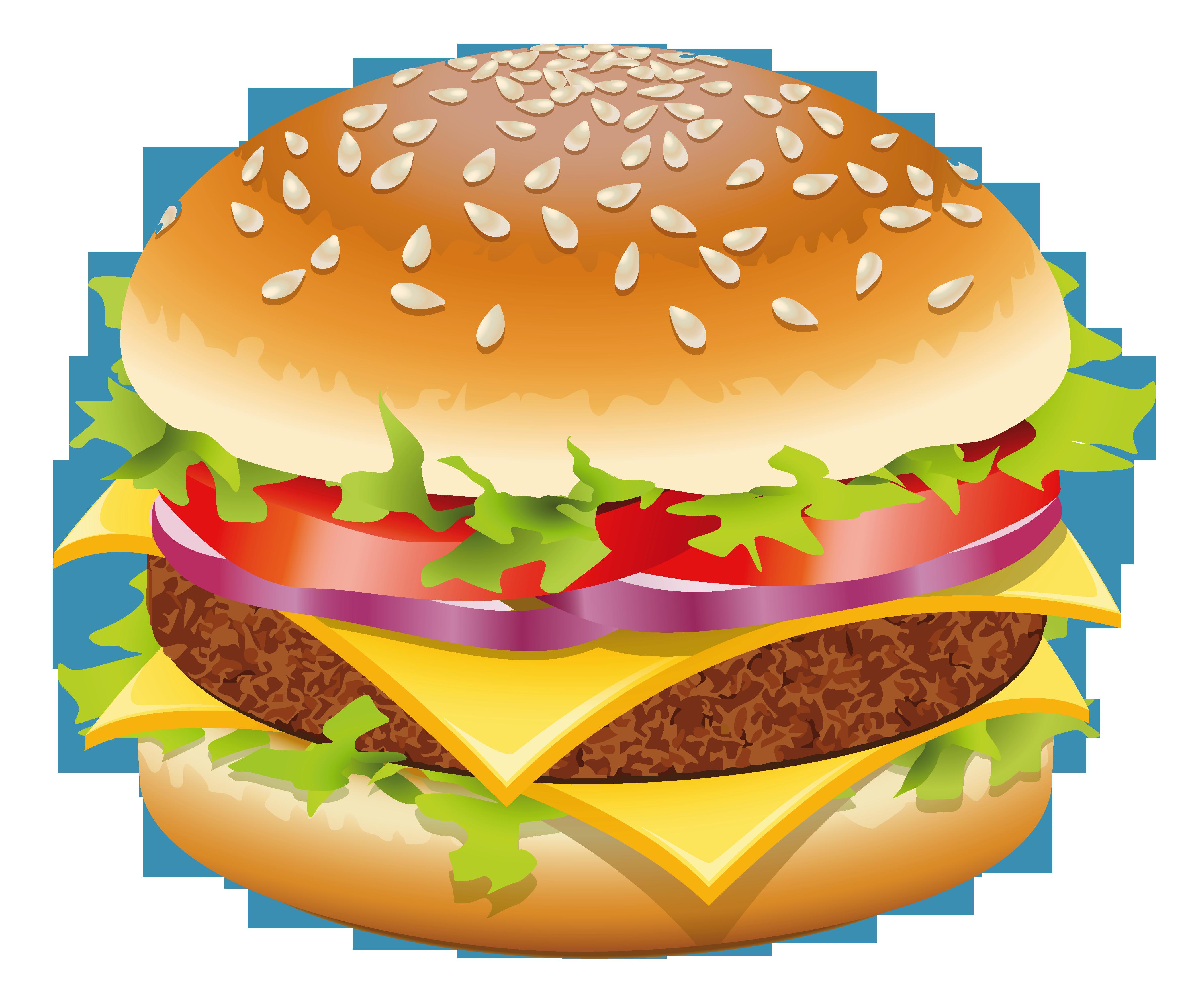 clipart hamburger.