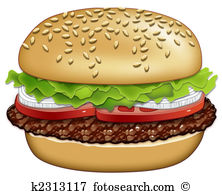 Hamburger Illustrations and Clip Art. 3,985 hamburger royalty free.