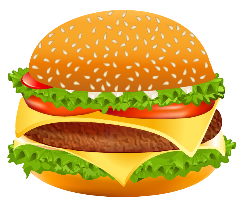 56 Free Hamburger Clipart.