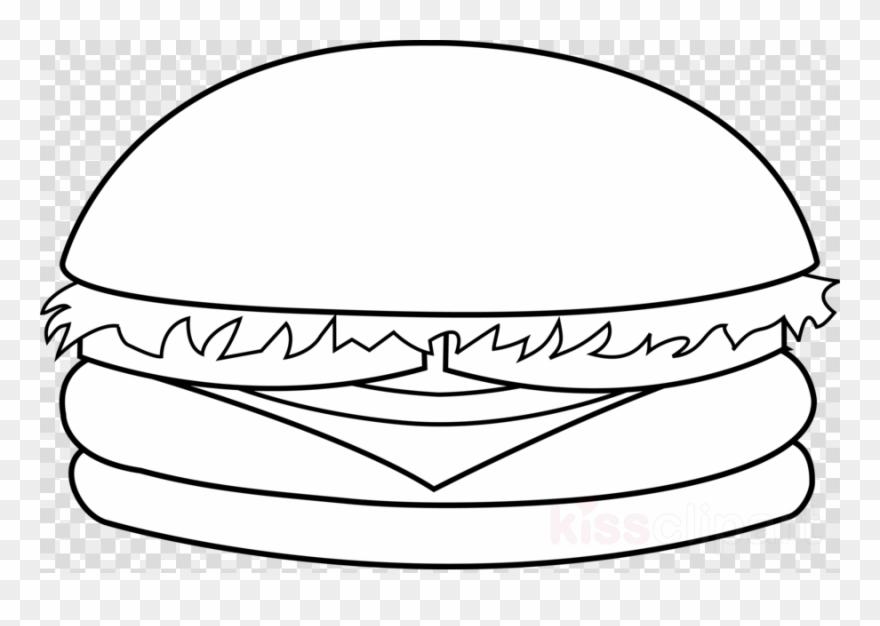 Cheeseburger Black And White Clipart Cheeseburger Hamburger.