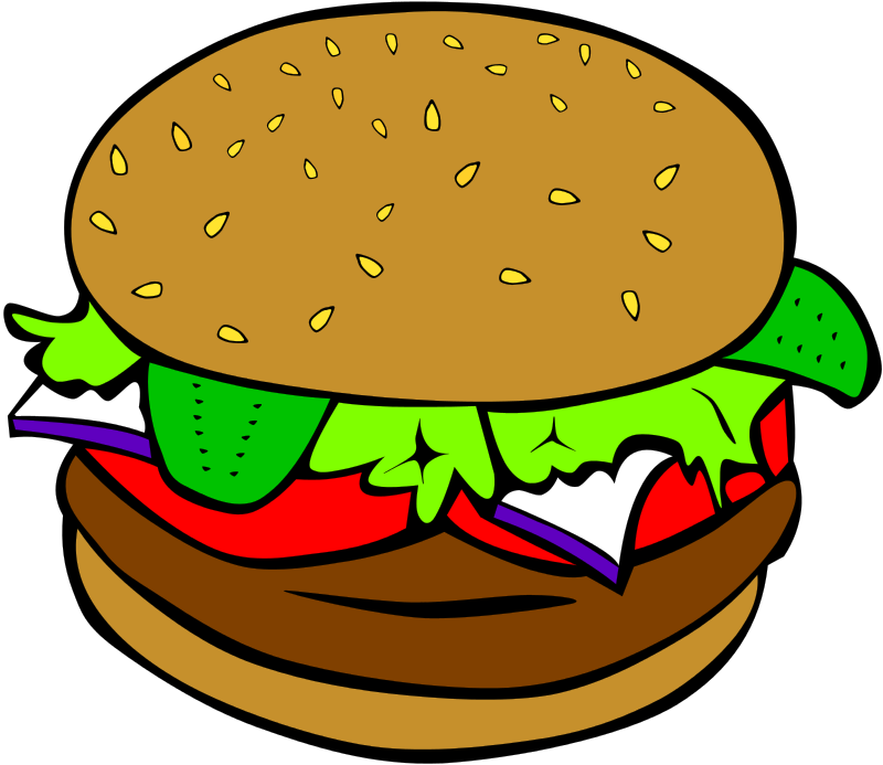 Free Clipart: Fast Food, Lunch.