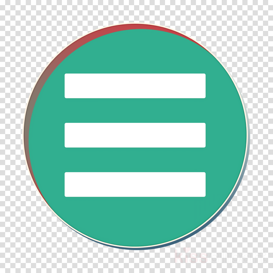 green icon hamburger icon list icon clipart.