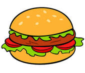 Hamburger clipart free 4 » Clipart Station.