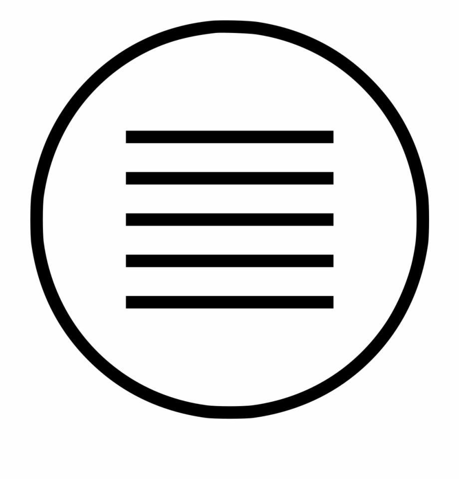 Hamburger Menu Png, Transparent Png Download For Free #44202.