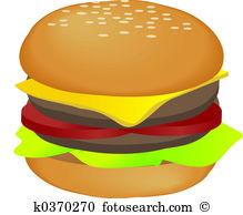 Hamburger Illustrations and Clip Art. 3,985 hamburger royalty free.