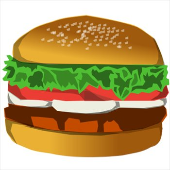Hamburger Clip Art & Hamburger Clip Art Clip Art Images.