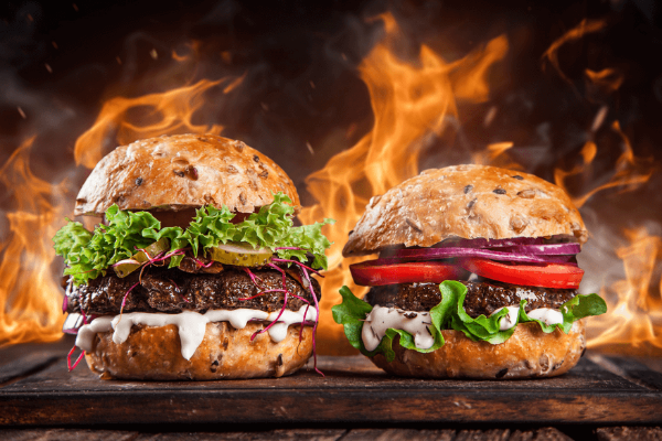 Hambúrguer Gourmet.