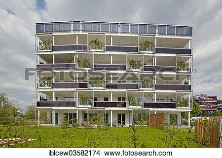 "Stock Photo of ""International Building Exhibition, IBA Hamburg."