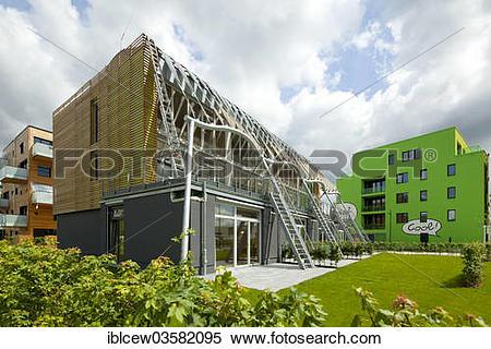 "Stock Image of ""International Building Exhibition, IBA Hamburg."