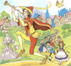 Image result for the pied piper of hamelin.
