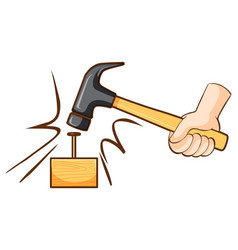 Hammer Clipart Cartoon Vector Images (over 100).