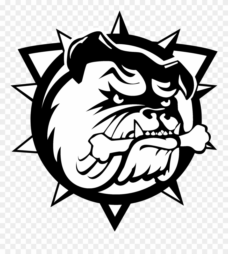 Hamilton Bulldogs Logo Black And White.