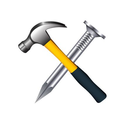 5,019 Hammer And Nails Stock Illustrations, Cliparts And Royalty.