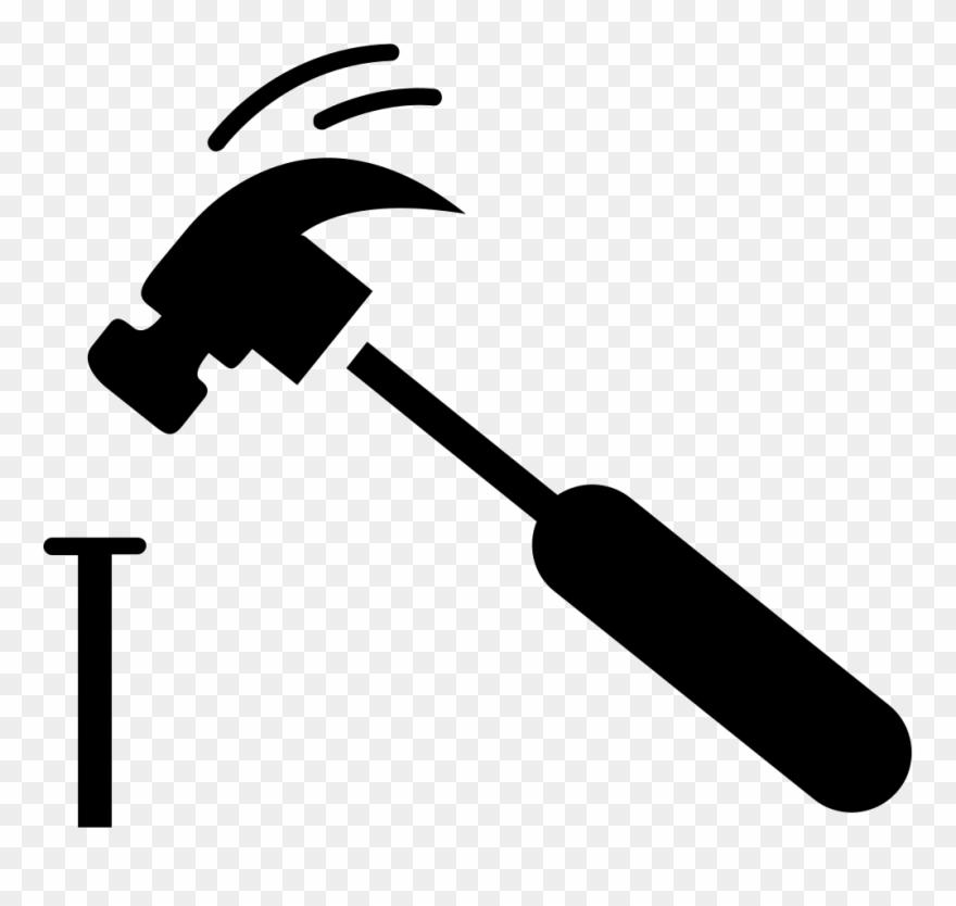 Hammer And Nail Png Clipart (#813177).