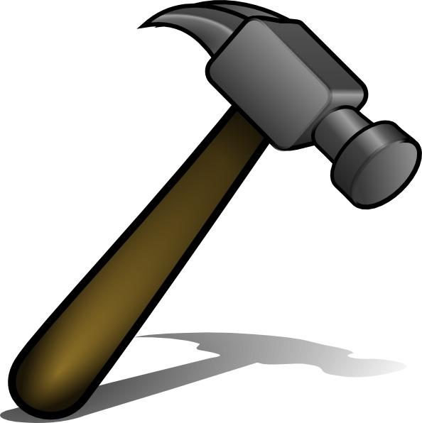 Hammer clip art Free vector in Open office drawing svg ( .svg.
