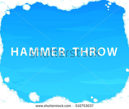 Throwing The Hammer Stock Photos, Royalty.