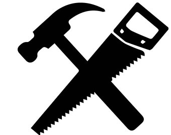 Hammer And Saw Clipart.